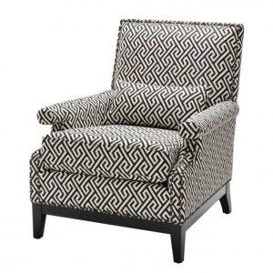 Кресло Eichholtz Chair Goldoni Black