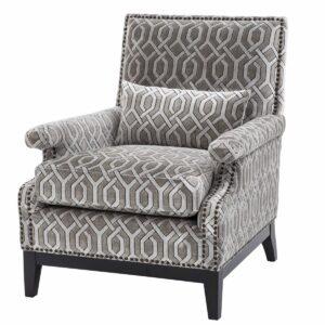 Кресло Eichholtz Chair Goldoni Grey