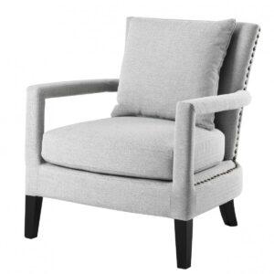 Кресло Eichholtz Chair Gregory Light Grey