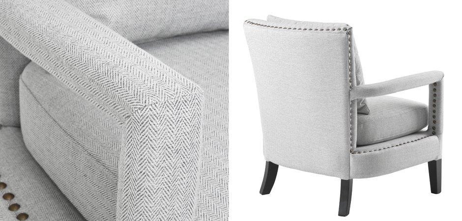 Кресло Eichholtz Chair Gregory Light Grey  - фото 2