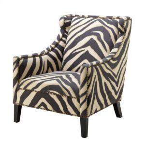 Кресло Eichholtz Chair Jenner Zebra