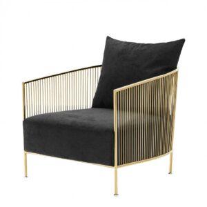 Кресло Eichholtz Chair Knox Gold