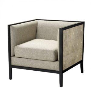 Кресло Eichholtz Chair Lauriston Grey