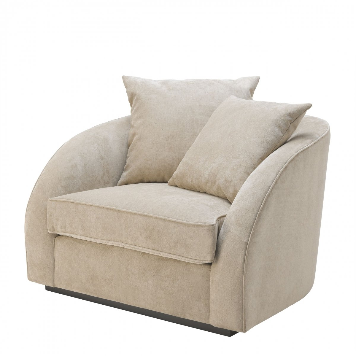 Кресло Eichholtz Chair Les Palmiers Greige  - фото 1