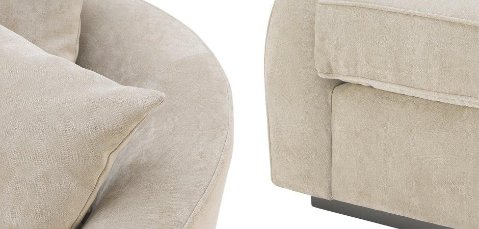 Кресло Eichholtz Chair Les Palmiers Greige  - фото 2