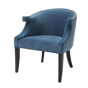 Кресло Eichholtz Chair Margaux blue