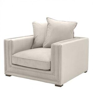 Кресло Eichholtz Chair Menorca Stone grey