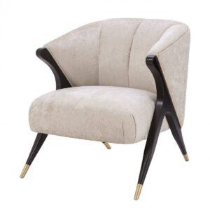 Кресло Eichholtz Chair Pavone White