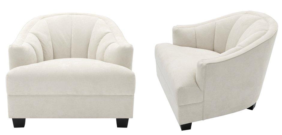 Кресло Eichholtz Chair Polaris Ecru  - фото 2