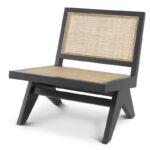 Кресло Eichholtz Chair Romee black  - фото 1