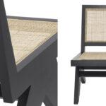 Кресло Eichholtz Chair Romee black  - фото 2