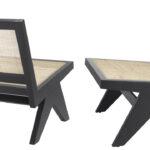 Кресло Eichholtz Chair Romee black  - фото 3
