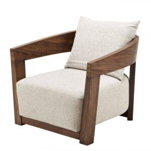 Кресло Eichholtz Chair Rubautelli Walnut
