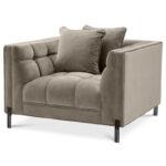 Кресло Eichholtz Chair Sienna greige  - фото 1