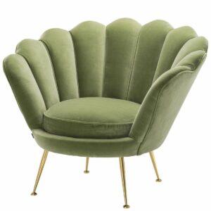 Кресло Eichholtz Chair Trapezium Light Green