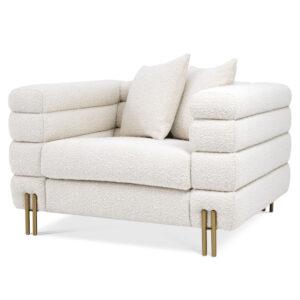 Кресло Eichholtz Chair York Boucle cream