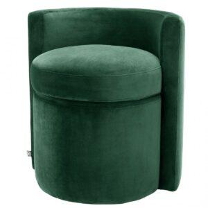 Кресло Eichholtz Stool Arcadia dark green