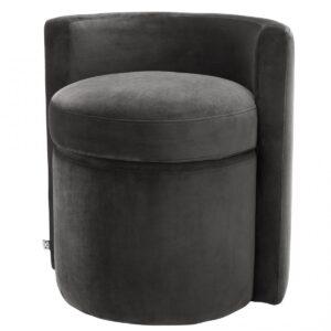 Кресло Eichholtz Stool Arcadia dark grey