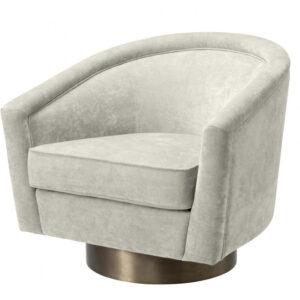 Кресло Eichholtz Swivel Chair Catene Sand