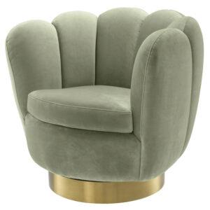 Кресло Eichholtz Swivel Chair Mirage pistache green