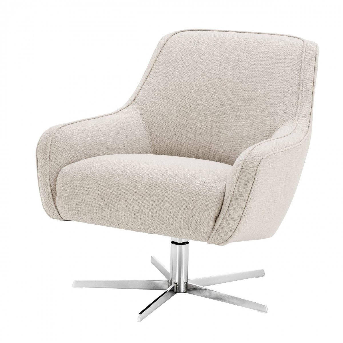 Кресло Eichholtz Swivel Chair Serena Natural  - фото 1