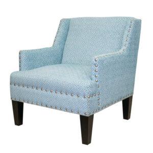 Кресло Fabio Armchair Velour blue