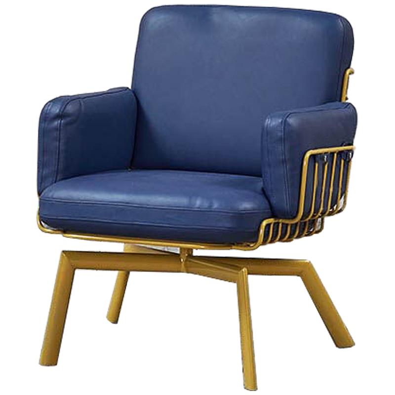 Кресло Frankie Armchair blue  - фото 1