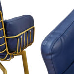 Кресло Frankie Armchair blue  - фото 2