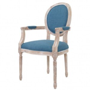 Стул French chairs Provence Blue ArmChair