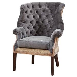 Кресло Gamilton Armchair Gray
