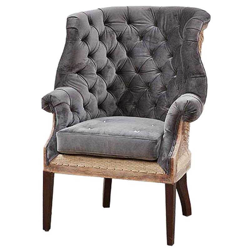 Кресло Gamilton Armchair Gray  - фото 1