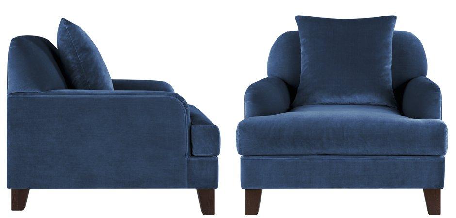 Кресло Grace Deep Blue  - фото 2