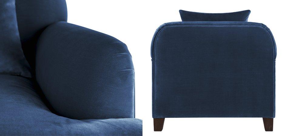 Кресло Grace Deep Blue  - фото 3