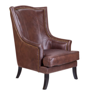 Кресло Gregoir Armchair light натуральная кожа