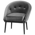 Кресло Gwyn Chair Gray  - фото 1