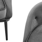 Кресло Gwyn Chair Gray  - фото 2