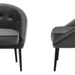 Кресло Gwyn Chair Gray  - фото 3