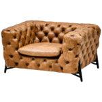Кресло Hendrica Capitone Chair  - фото 1