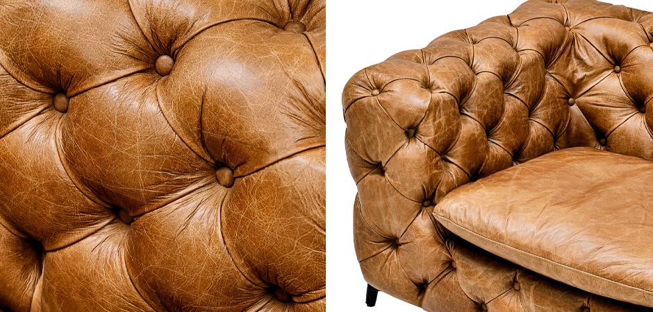 Кресло Hendrica Capitone Chair  - фото 3