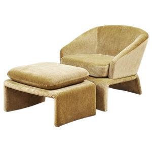 Кресло и пуф Connor Armchair