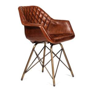 Кресло Leather Industrial armchair