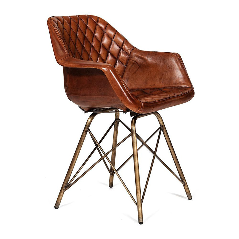 Кресло Leather Industrial armchair  - фото 1