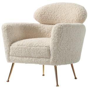 Кресло Milk Boucle Chair