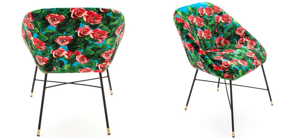 Кресло Seletti Padded Chair Roses  - фото 3