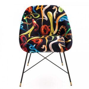 Кресло Seletti Padded Chair Snakes