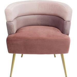 Кресло Pink Velvet Superposition