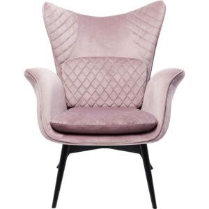 Кресло Pink Velvet Throne