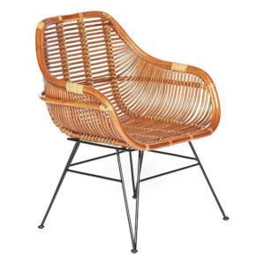 Кресло Rattan Wicker Chair Pitaya