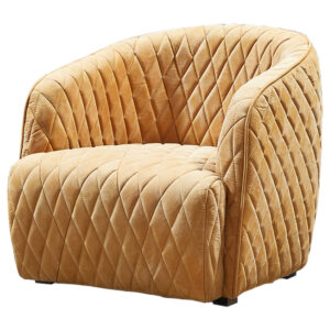 Кресло Rhombuses Upholstery Armchair Milk Caramel