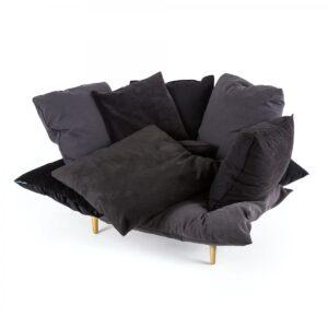 Кресло Seletti Armchair Comfy charcoal grey